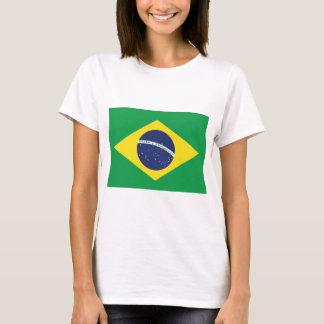 Drapeau brésilien t-shirt