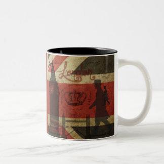 Drapeau britannique, autobus rouge, Big Ben et aut Mugs