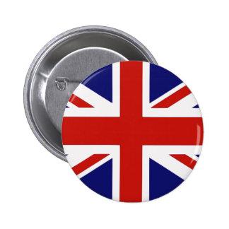 Drapeau britannique badge rond 5 cm