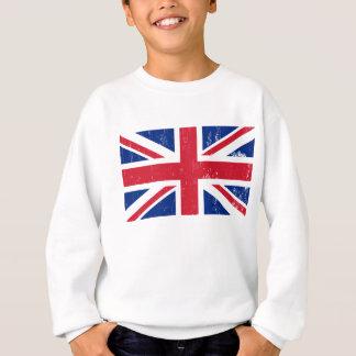 Drapeau britannique BRITANNIQUE de l'anglais de la Sweatshirt