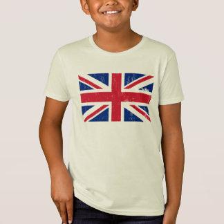 Drapeau britannique BRITANNIQUE de l'anglais de la T-shirt