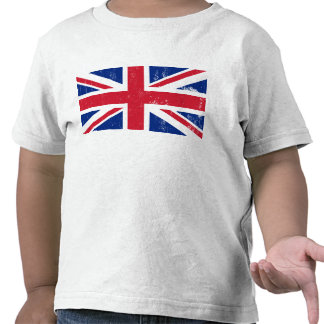 Drapeau britannique BRITANNIQUE de l'anglais de la T-shirts