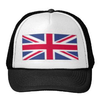Drapeau britannique casquettes