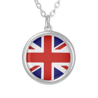 Drapeau britannique collier