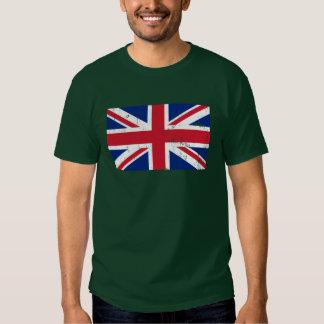 Drapeau BRITANNIQUE des Anglais gigaoctet T-shirts