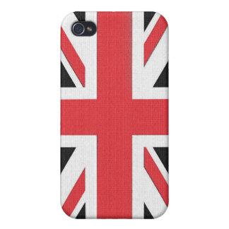 Drapeau britannique d'Union Jack Coque iPhone 4 Et 4S