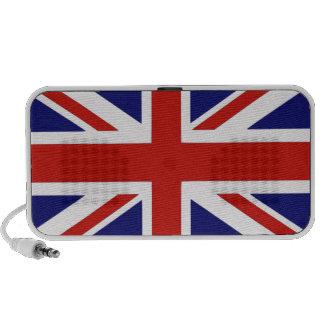 Drapeau britannique haut-parleur notebook