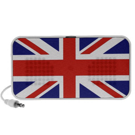 Drapeau britannique haut-parleur mp3