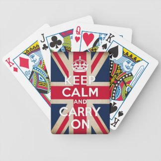 drapeau britannique jeu de poker