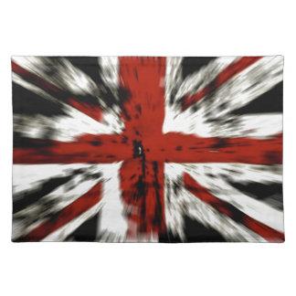 Drapeau britannique sets de table