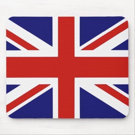 Drapeau britannique tapis de souris