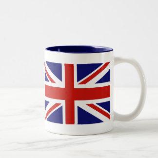 Drapeau britannique tasses