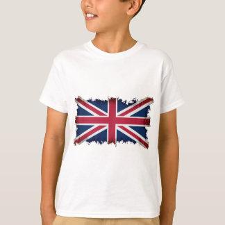 Drapeau britannique, Union Jack, grunge T-shirts