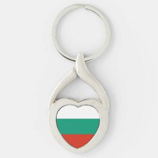 Drapeau bulgare patriotique porte-clés