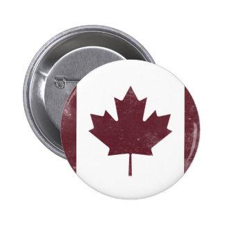Drapeau canadien vintage badge