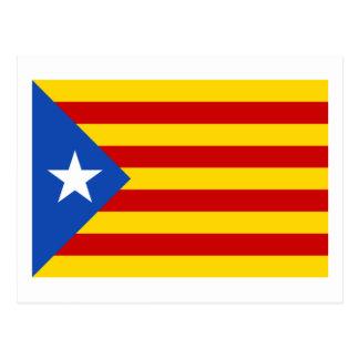 """Drapeau catalan de l'indépendance de """"L'Estelada Carte Postale"""
