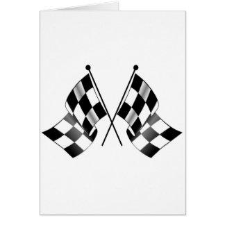 drapeau checkered cartes