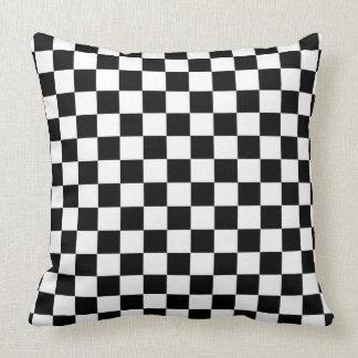 Drapeau Checkered Coussin