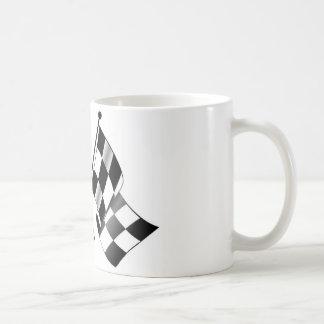 drapeau checkered mug