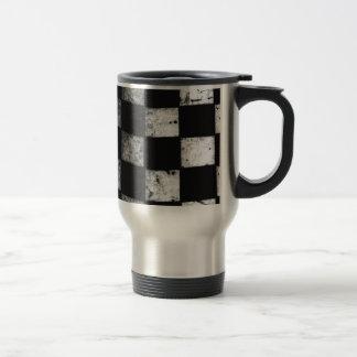 Drapeau Checkered Mug De Voyage