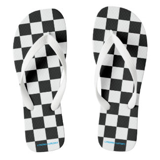 drapeau checkered tongs