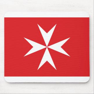 Drapeau civil drapeau de Malte, Maldives Tapis De Souris