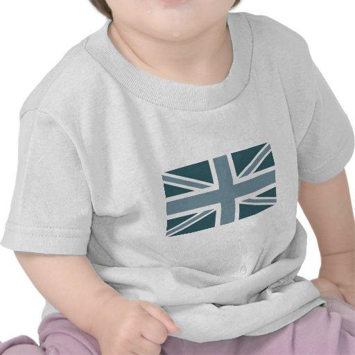 Drapeau classique bleu d'Union Jack les Anglais (R T-shirt