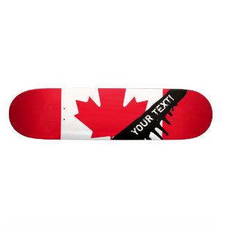 Drapeau classique du Canada Planches À Roulettes