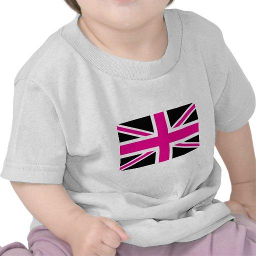 Drapeau classique d'Union Jack les Anglais (R-U) d T-shirt