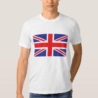 Drapeau classique d'Union Jack les Anglais (R-U) T-shirts