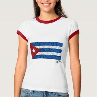 Drapeau cubain t-shirt