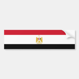 Drapeau d'adhésif pour pare-chocs de l'Egypte Autocollant Pour Voiture