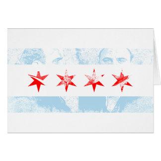 Drapeau d'Al Capone Chicago Cartes