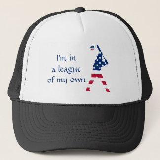 Drapeau d'Américain de base-ball de l'Amérique Casquette