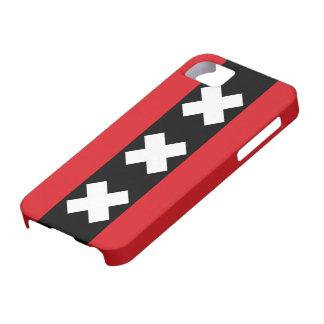 Drapeau d'Amsterdam Étuis iPhone 5