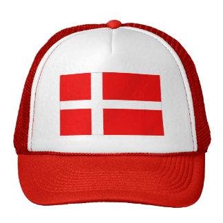 Drapeau danois du Danemark pour des Danois Casquette