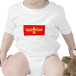 Drapeau d'araméen de Syriac T-shirts