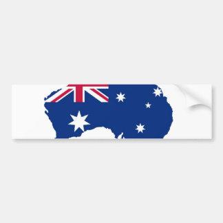 Drapeau d'Australie Australia style conception Autocollant Pour Voiture