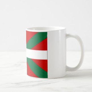 Drapeau de basque de l Espagne Mug À Café