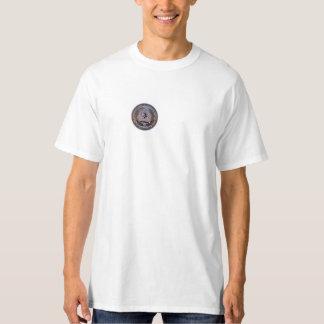 Drapeau de bataille de Virginian de tyrannis de T-shirt