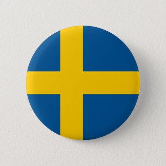 Drapeau de bouton de la Suède Badges