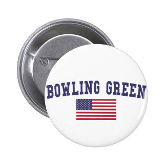 Drapeau de Bowling Green USA Badge