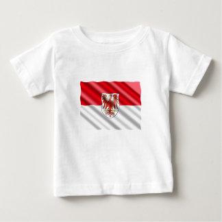 Drapeau de Brandebourg T-shirt Pour Bébé