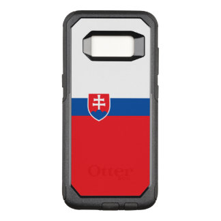 Drapeau de cas de la Slovaquie Samsung OtterBox Coque Samsung Galaxy S8 Par OtterBox Commuter