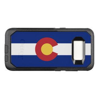 Drapeau de cas du Colorado Samsung OtterBox Coque Samsung Galaxy S8 Par OtterBox Commuter