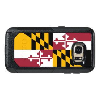 Drapeau de cas du Maryland Samsung OtterBox Coque OtterBox Samsung Galaxy S7
