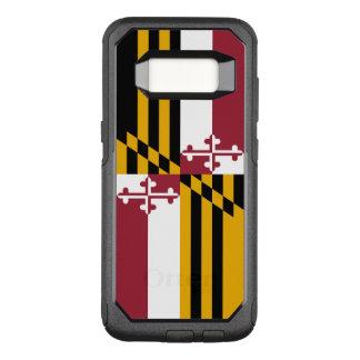 Drapeau de cas du Maryland Samsung OtterBox Coque Samsung Galaxy S8 Par OtterBox Commuter