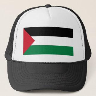 Drapeau de casquette de la Palestine