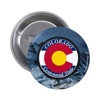 Drapeau de circulaire du Colorado Badges