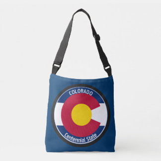 Drapeau de circulaire du Colorado Sac